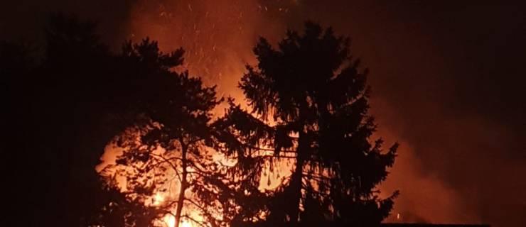 Feuer zerstört Dachstuhl in Bad Schönborn