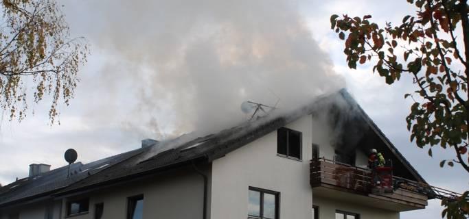Über 150.000 Euro Sachschaden bei Dachstuhlbrand in Ettlingen Oberweier