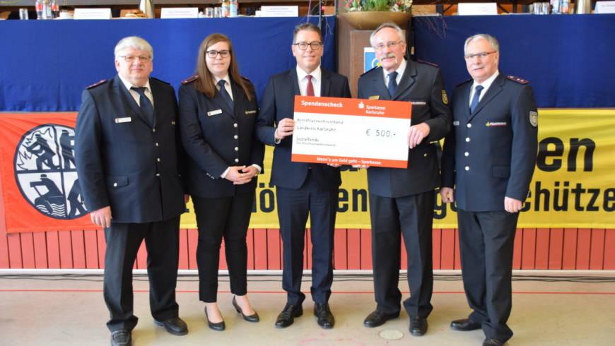 Dienst- und Verbandsversammlung der Feuerwehren des Landkreises Karlsruhe 2018