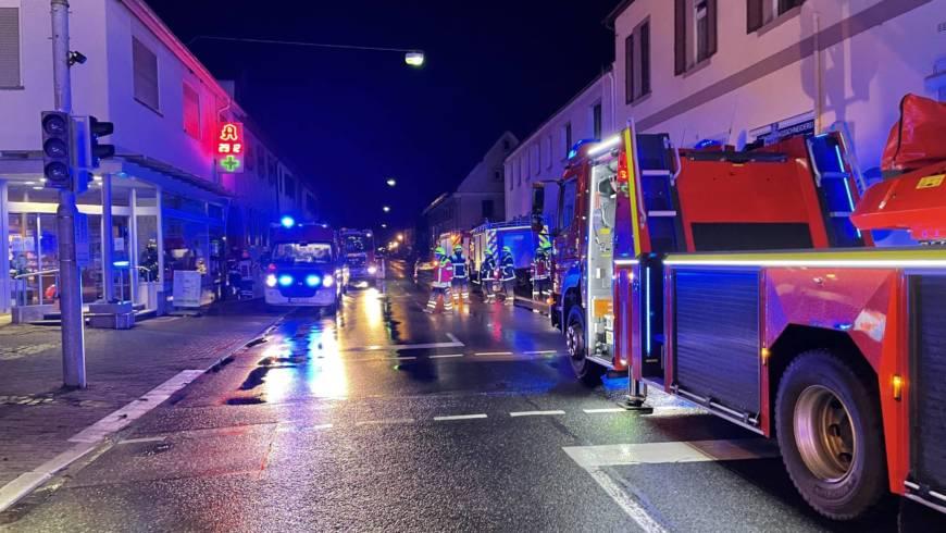 Nächtlicher Brand in einer Anschlussunterkunft