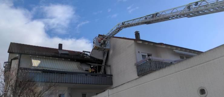 Brand in Reichenbach – Eine verletzte Person