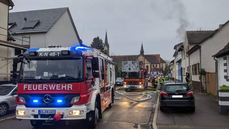 Zimmerbrand im Ortsteil Karlsdorf konnte schnell gelöscht werden